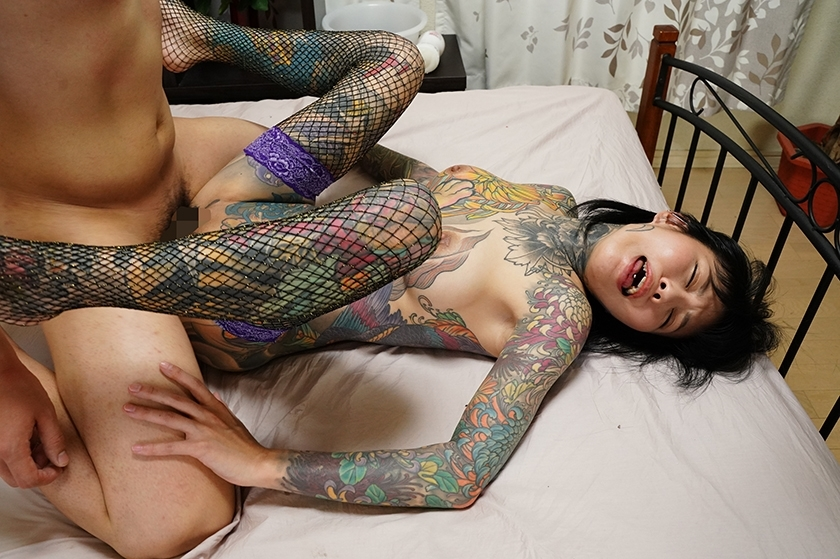 これは凄い!全身和彫の女 桜雅凛のサンプル画像16
