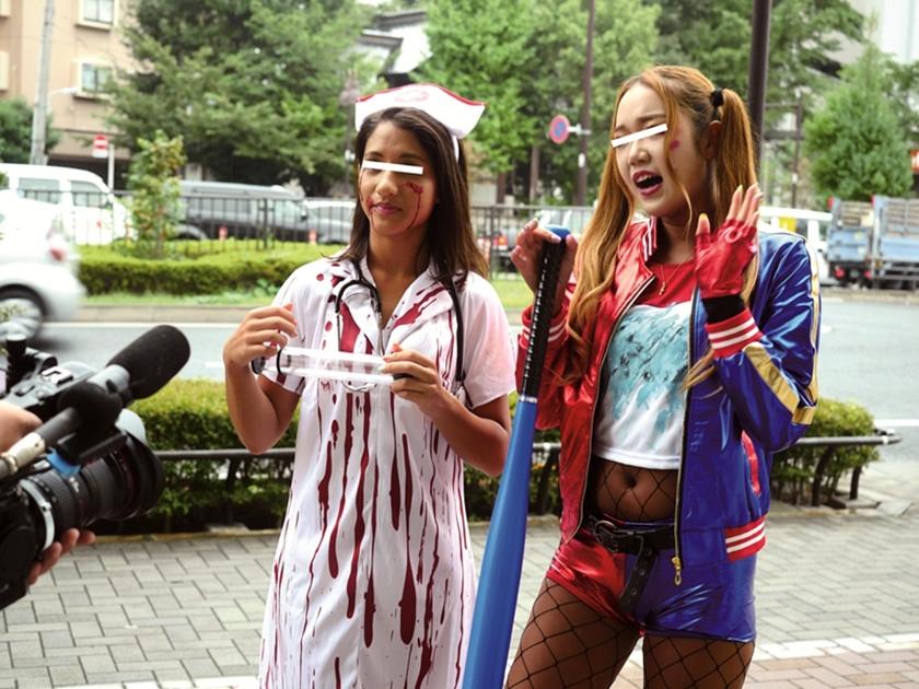 マジックミラー号 ハロウィン仮装ギャルナンパin渋谷 2017