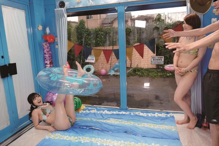 マジックミラー号逆ナンパ 夏スーパービキニボディ 推川ゆうり 大槻ひびき の画像9