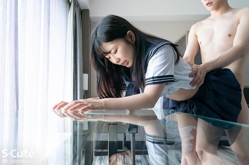 ゆい(20) S-Cute 若肌娘のセーラー服エッチのサンプル画像5