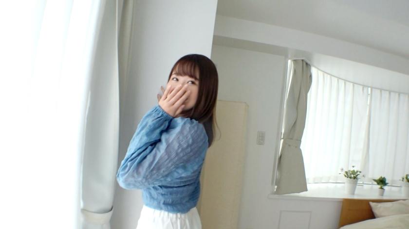 【初撮り】【色白JD】【むっちり妹キャラ】くりくりした目の妹系大学生。恥ずかしい部分を舐められている羞恥顔が愛くるしい。 応募素人、初AV撮影 106_pic0