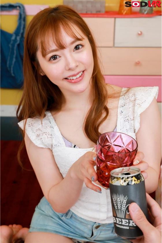 【VR】酔って甘えてくる激カワ彼女と最初から最後までねっとりキス100回SEX 小倉由菜1