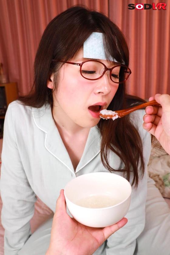 【VR】普段は強気な女上司を看病する事に。発熱で弱って乙女返りした姿と、汗で蒸れた身体に欲情してしまい・・・。 新川愛七2