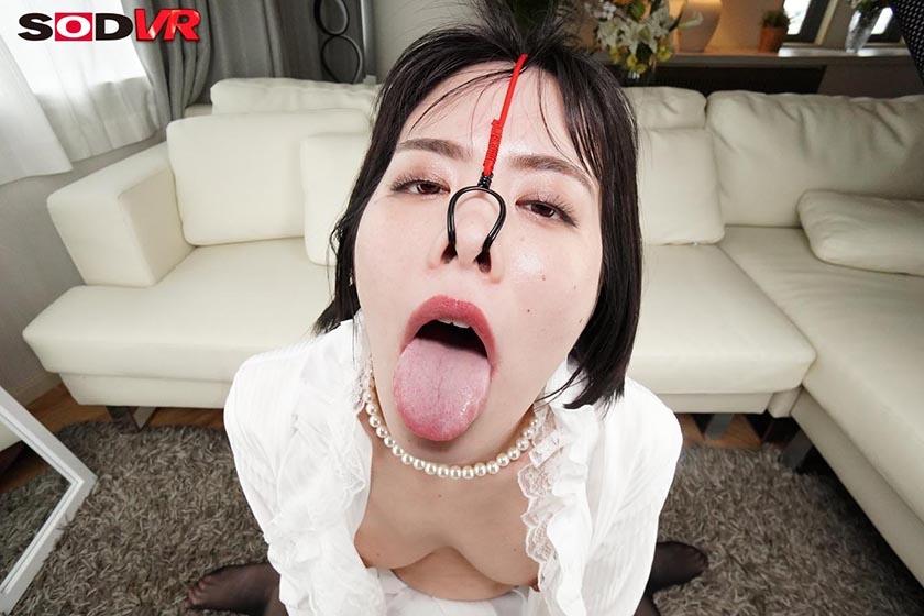 【VR】美女の鼻フックSEX 高飛車な女の歪んだブタ鼻顔をじっくり観賞しながらハメる侮辱セックス14