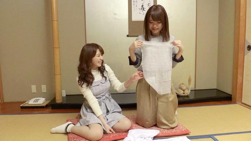 ゆう(23) 推定Fカップ なつ(23) 推定Eカップ 箱根湯本温泉で見つけたお嬢さん タオル一枚 男湯入ってみませんか?