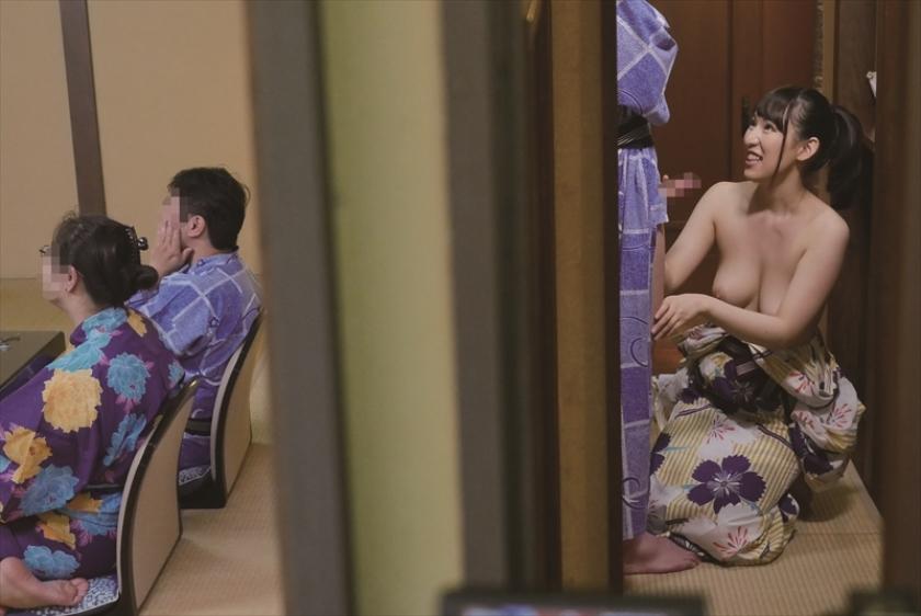 家族旅行中に可愛い弟のことが大好きなお姉さんは家族露天風呂で「禁断の童貞筆下ろし」をすることができるのか!?