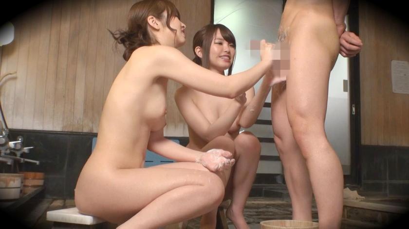 ゆう(23) 推定Fカップ なつ(23) 推定Eカップ 箱根湯本温泉で見つけたお嬢さん タオル一枚 男湯入ってみませんか? の画像8