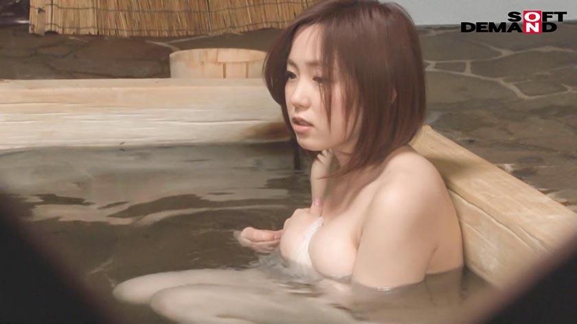ゆきなさん(22)推定Gカップ タオル一枚 男湯入ってみませんか?
