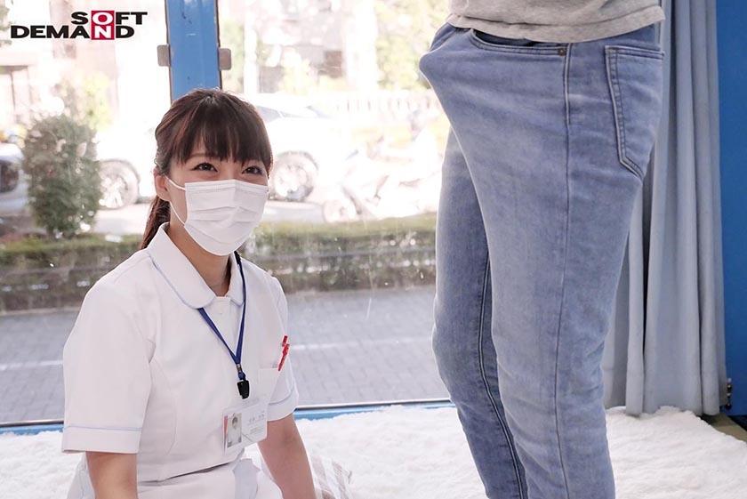 マジックミラー号 看護師限定 「絶倫ち○ぽ診察してくれませんか?」勃起が収まらなくて困っている男性をあの手この手で優しく導く白衣の天使たち 2のサンプル画像2