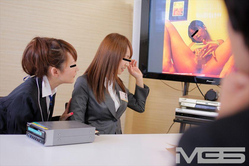 DVDショップの超純情女子社員が人生一度きりの(恥)AV現場研修! の画像8