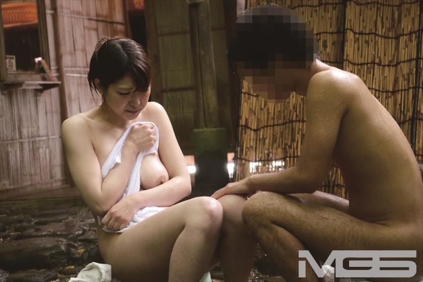 温泉街で見つけた一般男女が出会ってすぐに「混浴モニター体験」 初対面でいきなり裸同士!の即席カップルは、入浴中に火が付くまで何分? 3 の画像2