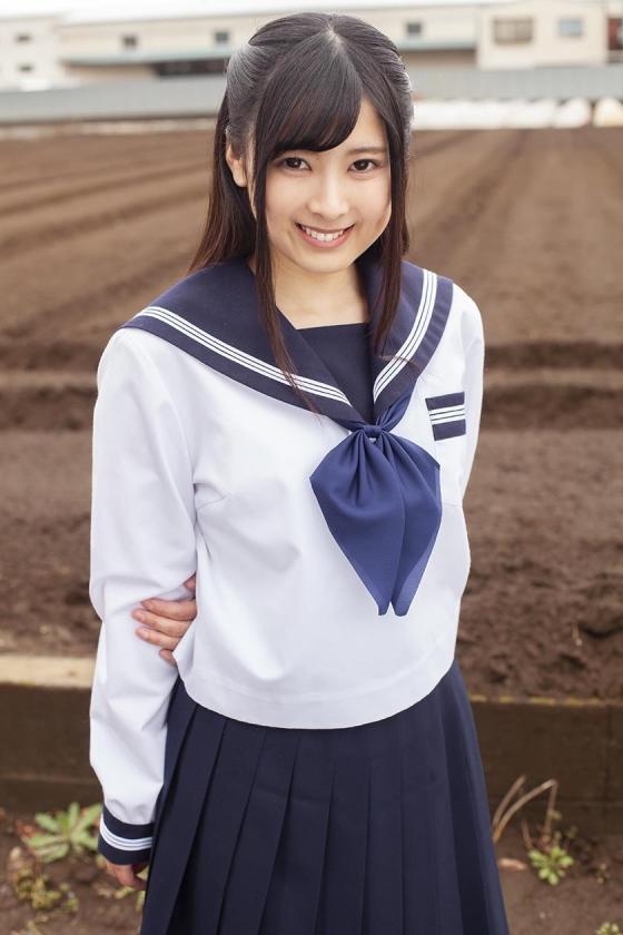 あかね(18)女子◯生 マジックミラー号 初めてのおちんちん研究!かわいいお顔にぶっかけ! の画像1