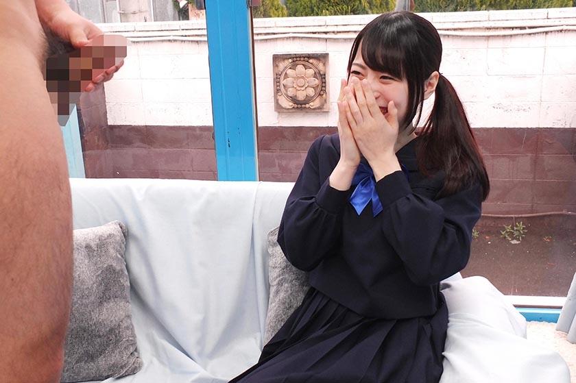 えりか(18)女子◯生 マジックミラー号 初めてのおちんちん研究!かわいいお顔にぶっかけ! の画像12