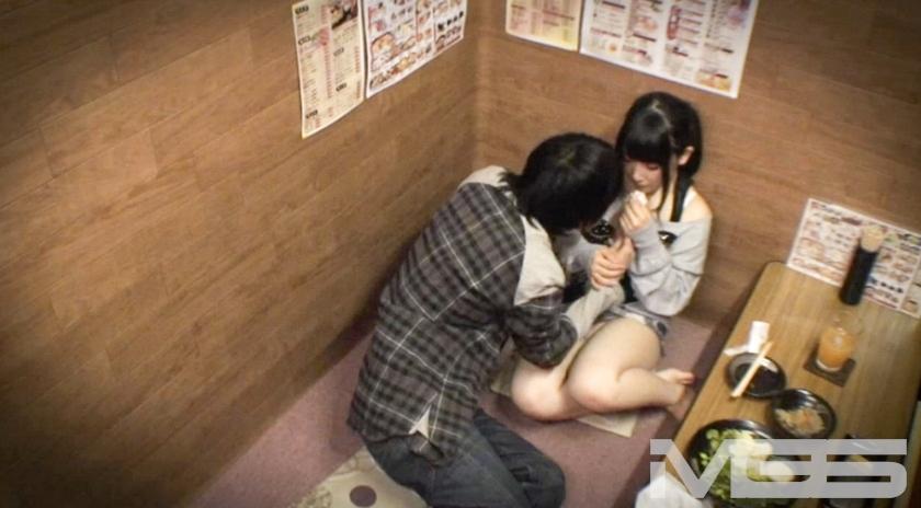 素人口説きライブ中継 居酒屋個室から の画像5