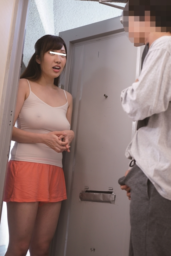 ソソる巨乳人妻マンション 隣人の僕は夫のいない間にノーブラ透け乳で誘う人妻にまんまとソソられ勃起チ○ポをもて遊ばれました!