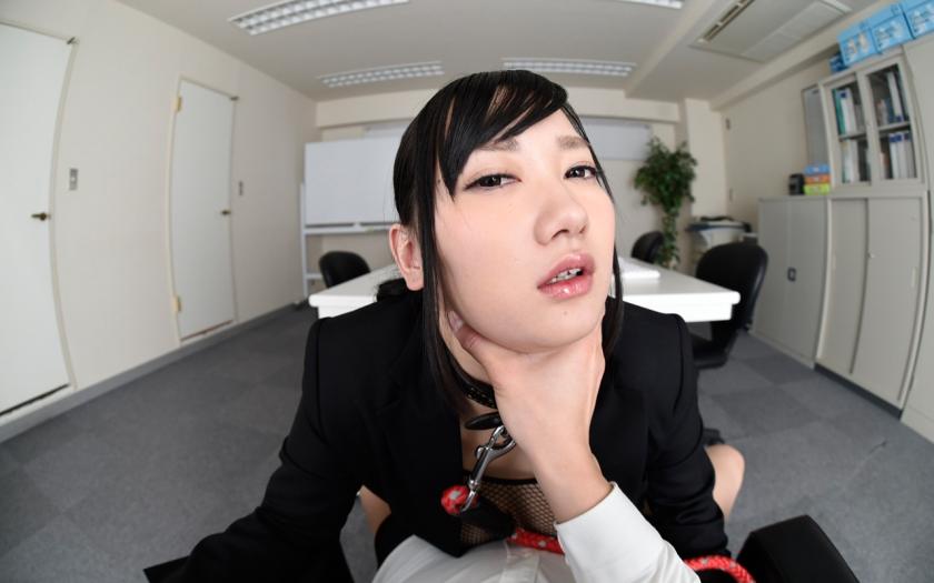 【VR】マゾ乳性奴隷 辛島音瑠のサンプル画像3