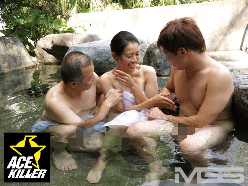 スキだらけの若奥さまが混浴温泉に一人きり…裸同士でナンパしたら中出しまでヤれた! 2